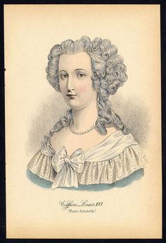 Marie Antoinette estampe