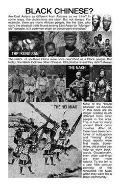 Black Asia- Black China....! Things that schools(throughout the diaspora) FAIL to TEACH---hmmmn?