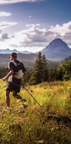 Sinister 7 100 mile trail race Crowsnest Pass Alberta Canada.