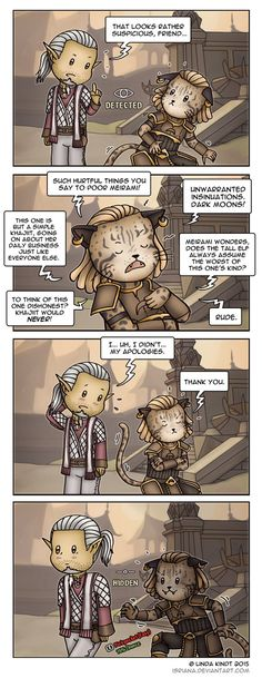 TESO: Khajiit Like To Sneak by Isriana