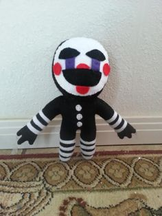 Five Nights at Freddy's 2 The Puppet Plush Fnaf, The Marionette, Freddy 2, Halloween Birthday, 7th Birthday, Sister Location, Best Horrors, Five Nights At Freddy's, Plushies