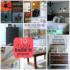 19 DIY Build It Projects to Inspire YOU!! -- Tatertots and Jello