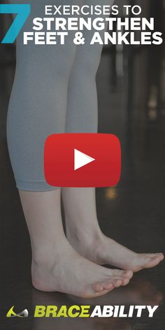 Foot drop sucks, but there are some exercises that can help. In this video, we show you some examples of drop foot exercises for treating your floppy foot, whether it stems from a peroneal nerve injury or some other cause. When you're not able to lift th Exercises For Tendonitis, Ankle Rehab Exercises, Ankle Strengthening Exercises, Ankle Exercises, Plantar Fasciitis Exercises, Foot Stretches, Physical Therapy Exercises, Plantar Fasciitis Shoes, Strengthen Ankles