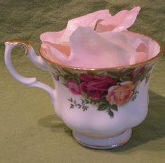 Rose Petal Soap Leaves  Melt and pour soap.