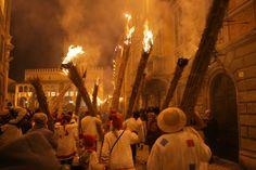 Li Vlurd a Offida (AP), manifestazione che si svolge il giorno di martedì grasso.