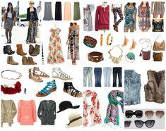 Bohemian Chic Wardrobe