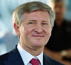 Rinat Achmetow (UA)  Oligarch, der die Partei der Regionen (inkl. Janukowytsch) unterstützte
