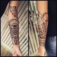 Maori tattoos – Tattoos And Tribal Tattoos, Taino Tattoos, Marquesan Tattoos, Samoan Tattoo, Black Tattoos, Roots Tattoo, Tattoo Son, Grey Tattoo, Arm Sleeve Tattoos