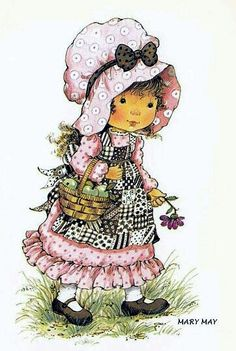 Mary May Sarah Key, Cute Images, Cute Pictures, Mary May, Decoupage, Susan Wheeler, Creation Art, Holly Hobbie, Jolie Photo