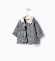 Double-face knit jacket