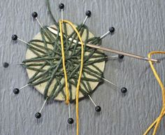DIY-twine-Flower-With-Cardboard-10