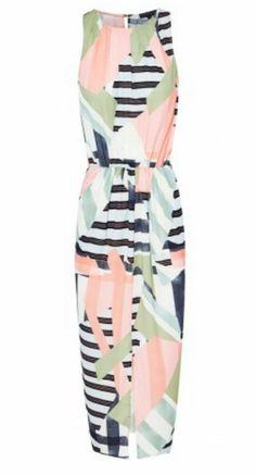 Sheike lulu maxi dress navy