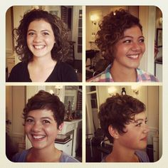 Love this pixie for curly hair.