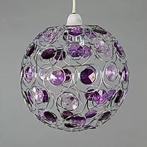 Wide range of Ceiling and Lamp Shades available to buy today at Dunelm, the UK's largest homewares and soft furnishings store. Purple Lamp, Christmas Bathroom, Color Lila, Purple Christmas, Bathroom Images, Purple Reign, All Things Purple, Color Of The Year, Shades Of Purple