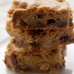 Candy Bar Blondies Recipe « Go Bold with Butter