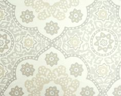 Seville Medallion in Light Stone from Galbraith & Paul. Spring 2012 Collection.