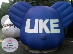 I met this Cruel & Cute Balloon at the cityhall in Seoul! New to Seoul? Just walk around!!! Let K-POP House be your friend!! Just LIKE!! and SHARE! Seoul, South Korea K-POP House & Travel