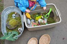 let the children play: Be Reggio Inspired: Learning Experiences Reggio Classroom, Toddler Classroom, Outdoor Classroom, Classroom Ideas, Classroom Routines, Play Based Learning, Learning Through Play, Early Learning, Preschool Themes