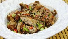Pork Chow Recipe (Trinidad and Tobago Cooking).