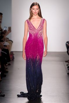 Pamella Roland, Spring 2018 - The Most Beautiful Dresses on the Runway at NYFW - Photos