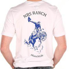 NRS White Bronc T-Shirt