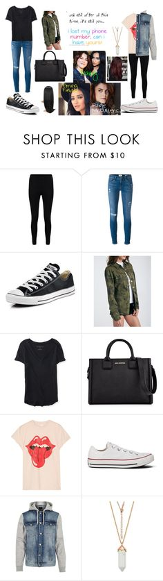 """Pretty Little Liars: Paily"" by teenwolfmoosic on Polyvore featuring Boohoo, Frame, Converse, Aéropostale, Karl Lagerfeld, MadeWorn and River Island"