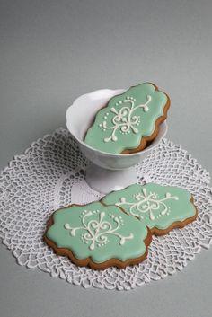 plaque shaped cookie idea.