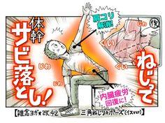 【驚き】肩コリは○○疲労が原因だった…体をねじってサビ落とし!