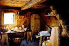 medieval houses interior cottage did inside ages middle castle manor fantasy gothic japanese iinet members recreation interiors