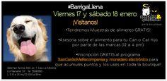 #BarrigaLlenaEnSanCanito 17 y 18 Ene Visítanos, estamos dando muestras gratis de alimento!