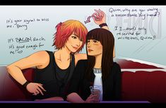 Best Faberry Fan Art | Rachel: Quinn, why are you waving a bacon above my head?Quinn: It's ...
