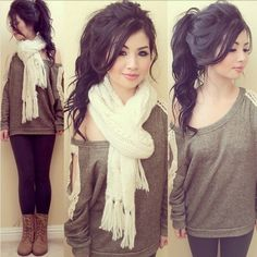 Love this winter style.
