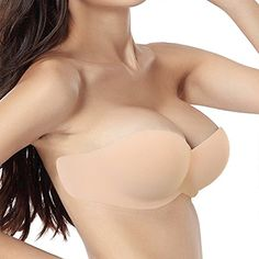 a8c7e7a75f12a YICHAOYILIANG Sticky Bra for Women Push Up Drawstring Clo... https