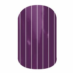 Purple Pinstripe (Matte) Jamberry Nails Wraps. Lasts up to 2 weeks on fingernails and 4 weeks on toenails. Buy it here: http://easycutenails.jamberrynails.net/home/ProductDetail.aspx?id=1999#.UtRNkbTWvCQ