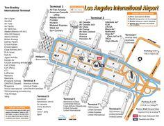 LAX Terminal Map circa mid-2000s