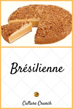 Desserts With Biscuits, Chiffon Cake, Biscuit Cookies, French Food, Vanilla Cake, Sweet Treats, Cheesecake, Deserts, Food And Drink