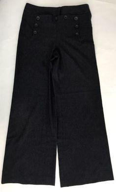 Diane Von Furstenberg Pants Virgin Wool Sz 10 016.   eBay