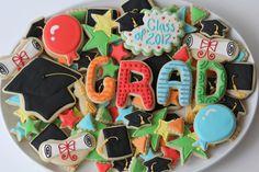 Graduation Sugar Cookies (8 dozen). $100.00, via Etsy.