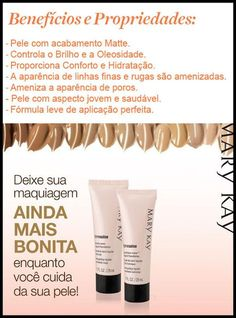 Mary Kay do Brasil Microdermoabrasao Mary Kay, Base Mary Kay, Mary Kay Brasil, Makeup Tools, Instagram Story, Beauty Makeup, Manicure, Foundation, Make Up