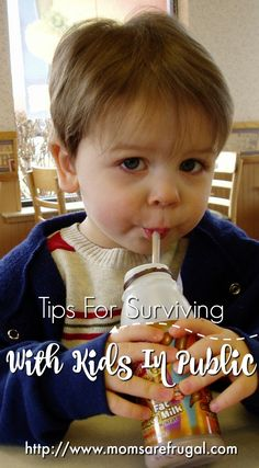 It is not always easy to handle kids in the public. They sometimes do embarrassing actions to others. Here are some tips for surviving with Kids in Public.