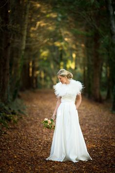 Elaine's beautiful autumn wedding portrait - Read more on One Fab Day: http://onefabday.com/autumn-wedding-by-poppies-and-me/