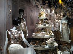 Vitrine at Le Printemps Paris by Dior