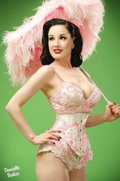 Dita's pretty in pink