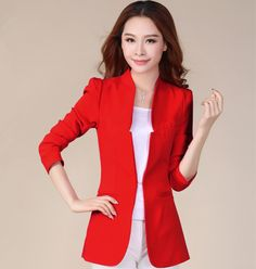 2013 Fashion Women's blazer Foldable Brand Jacket women clothes suit vintage blazer one button shawl cardigan jackets NZS001 - http://www.freshinstyle.com/products/2013-fashion-womens-blazer-foldable-brand-jacket-women-clothes-suit-vintage-blazer-one-button-shawl-cardigan-jackets-nzs001/