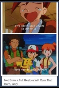 Ahh the good old days. I miss misty