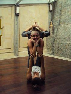 Acro yoga. Partner Yoga. Love.