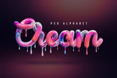 Alphabet, 3d Typography, Lettering, Summer Typography, Typographie Fonts, Schrift Design, Cake Logo Design, Object Photography, Small Letters