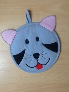Cat potholder from Vardenis Sewing