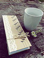 handmade bookbinding /  http://www.sashe.sk/Vailet/detail/dance-with-me?ref=2