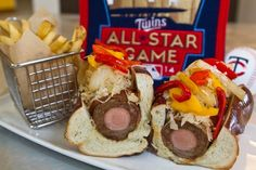 Most Over-the-top Ballpark Foods | Froggy 99.9